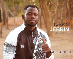 Jebrin scored on Mazembe debut