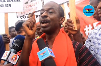 Asiedu Nketia said that the demonstration is aimed at protecting the sovereignty of Ghana