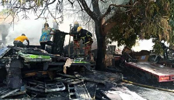 Over 100 SADA tricycles burnt in WA