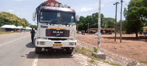 The impounded cars are at the office of the Forestry Commission office in Damongo