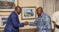President Akufo-Addo and his Vice, Dr Mahamudu Bawumia