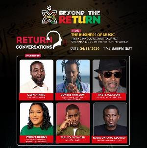Panelists include Glyn Aikins, Dontae Winslow, Vasti Jackson, Vasti and Mark Okraku-Mantey