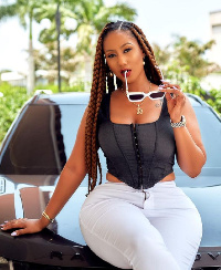 Ghanaian socialite,  Mona4real