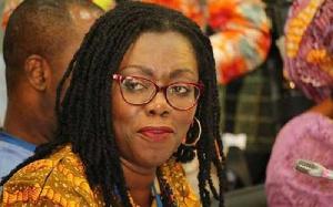 Mrs Ursula Owusu-Ekuful, Minister of Communications and Digitalisation