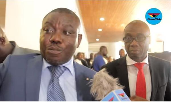 MP for Bolga Central, Isaac Adongo