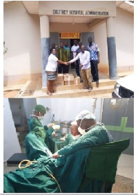SOGOG surgical outreach was held at the Nkwanta South District Hospital