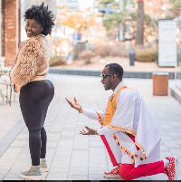 Okyeame Kwame and Annica are celebrating their 9th wedding anniversary today