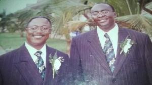 Dr Mahamadu Bawumia and Prof. Kenneth Agyeman Attafuah in 1999