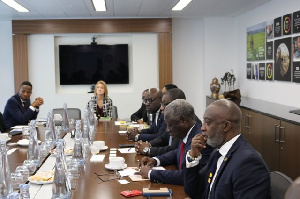 The visit was part of activities organised by the UK-Ghana Chamber of Commerce