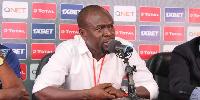 Black Stars coach Charles Akonnor