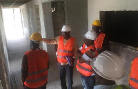 The ECG team are personnel from the beneficiary districts and the Projects Directorate of ECG