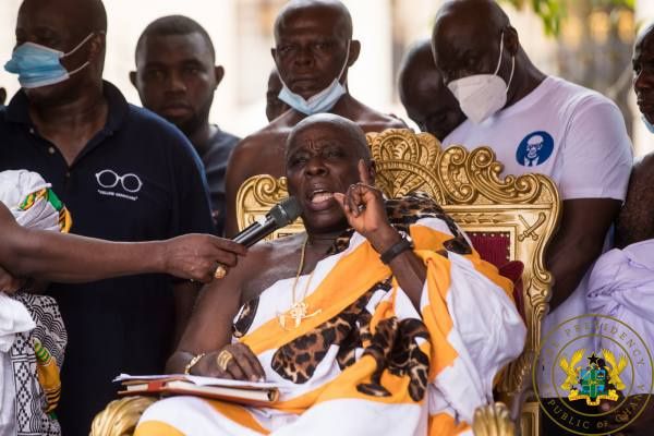 Ghanaians should support Akufo-Addo in his second term – Okyenhene