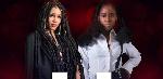 Dancehall artiste, Mishasha and MzVee