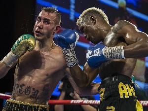 Maxim Dadashev (Left) dies after sustaining brain injury in the ring