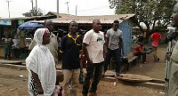 Some members of the Concerned Youth of Ashaiman Tulaku