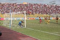 A packed Baba Yara Stadium when Kotoko hosted ASEC Mimosas