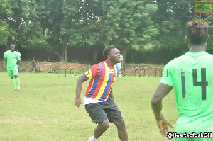 Sulley is close to a Hearts of Oak deal