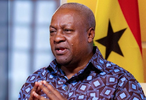 John Mahama he will not accept the processes involved in the trial and the final ruling