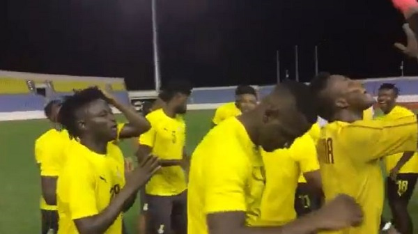 Black Stars in 'jama' mood ahead of 2021 AFCON qualifier against South Africa