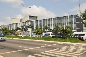 The building belonging to the late Edward Osei Boakye