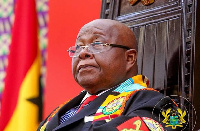 Speaker of Parliament, Professor Mike Oquaye