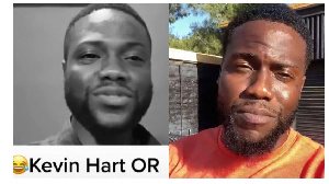 Dr Awua is claimed to resemble Kevin Hart