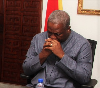John Dramani Mahama is the first president to lose an election under the Fourth Republic
