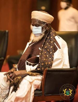 The National Chief Imam, Sheikh Osman Nuhu Sharubutu