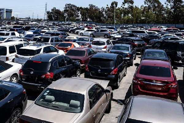 The law banning the importation of salvaged vehicles into Ghana takes effect on November 1