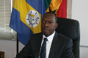Richard Anamoo is a former Director-General of the Ghana Ports and Harbours Authority