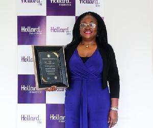 Patience Akyianu,  Group Chief Executive Officer (CEO) of Hollard Ghana