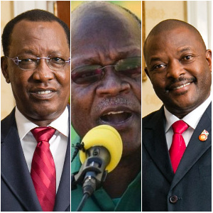 These three African presidents have died in the last year