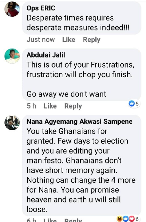 Mahama under siege on Facebook for 'desperate and inconsistent' tertiary promise 2