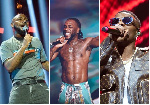 The three musicians have dominated the industry in the last eight years