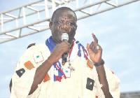 Suspended NPP chairman,  Paul Afoko