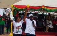 Vice President, Amissah-Arthur introduces Betty Mensah, NDC MP aspirant for the Afram Plain North