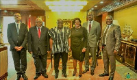 The visit was to formally congratulate Akufo-Addo on his assumption as President of the country