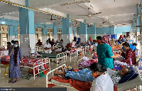 A coronavirus ward in the Government Medical College Hospital in Manjeri