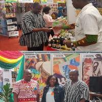 Ghanaian representatives at the Zambian International Fair