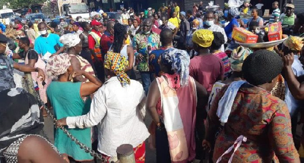 Don't blame market women for defying social distancing directive- Gender Minister