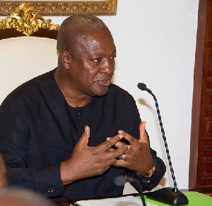 Ex President John Dramani Mahama