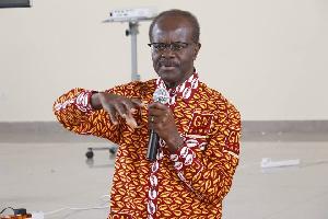 Dr Papa Kwesi Nduom, Chairman and Chief Executive Officer of Groupe Nduom