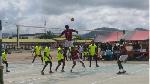 Court Winners from Donkorkrom won ongoing Akro-Ako Eastern Regional Volleyball league