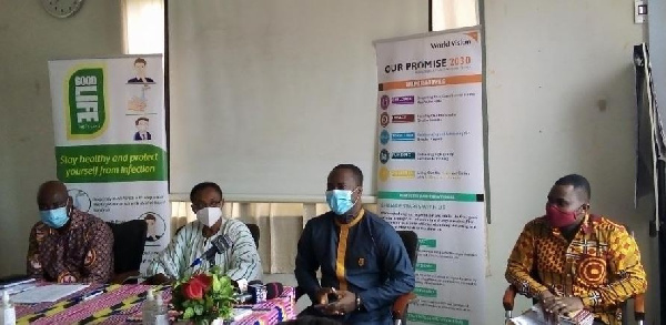 GHS, World Vision take steps to mitigate coronavirus infections among mortuary workers
