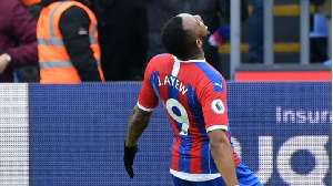 Crystal Palace forward Jordan Ayew