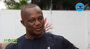 Ghana Football Association president Kurt Okraku