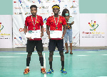 The National Badminton Doubles U-35 tournament at the DG Hathramani Hall of the Accra Sports Stadium