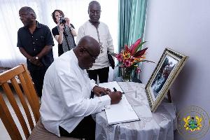 Akufo Addo Visits Family Of Kofi Annan