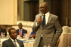Dan Acheampong, President of the Ghana Employers