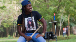 AMGEE is a Ghanaian female drummer